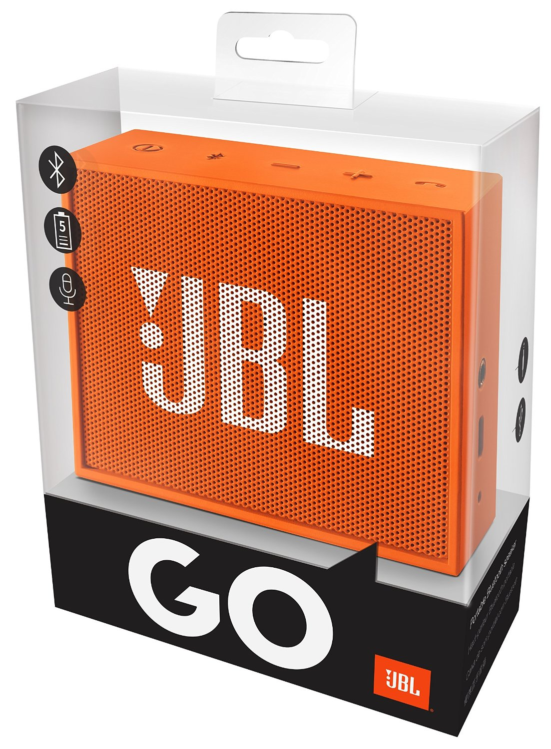 mini enceinte jbl go portable bluetooth orange 20 99. Black Bedroom Furniture Sets. Home Design Ideas