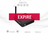 Deal expiré Mecool KM8, BOX TV 4K Android TV avec certification (...)
