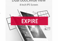 Deal expiré Tablette CUBE iWork8 Air, 8 pouces Android Windows FULL (...)