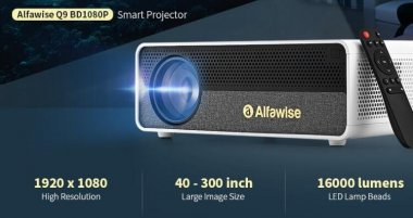 Video projecteur Alfawise Q9 low-cost mais en fullHD (...)